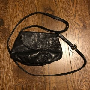 Handbags - Black mini crossbody purse
